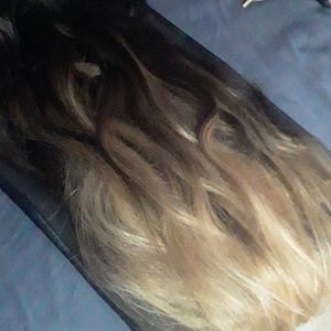 Bellami clip in hair extensions balayage